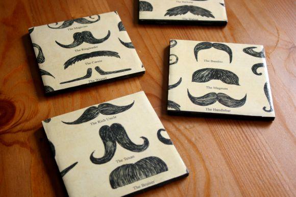 Mustache_Coasters_Closeup