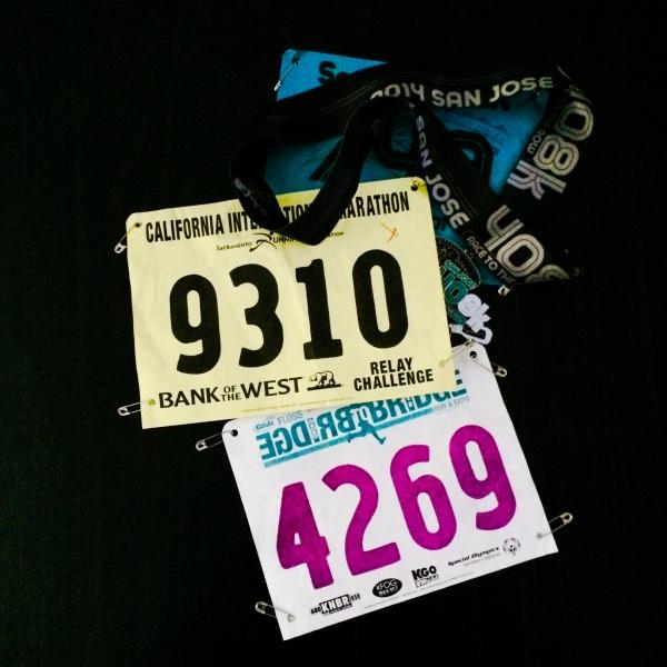 Running Race Bibs